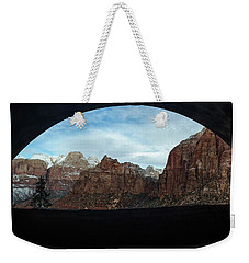 Window To Zion Weekender Tote Bag