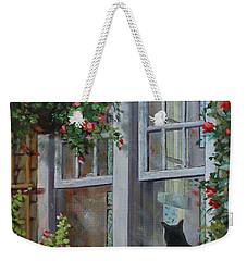 Window Watcher Weekender Tote Bag