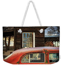 Weekender Tote Bag featuring the photograph Windows by Cat Connor