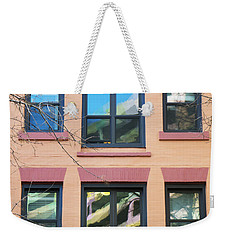 Window Reflections  Weekender Tote Bag by Susan Stone