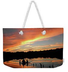 Windows From Heaven Sunset Weekender Tote Bag
