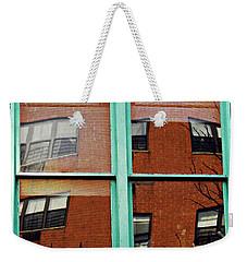 Windows In The Heights Weekender Tote Bag by Sarah Loft