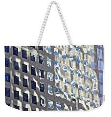 Windows Of 2 World Financial Center 2 Weekender Tote Bag