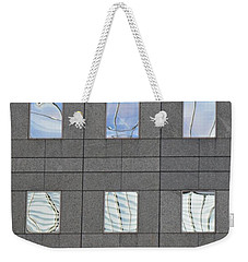 Weekender Tote Bag featuring the photograph Windows Of 2 World Financial Center   by Sarah Loft