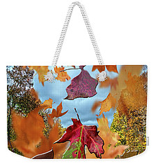Weekender Tote Bag featuring the photograph Winds Of Change by Judy Hall-Folde