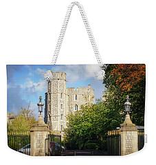 Weekender Tote Bag featuring the photograph Windsor Castle by Joe Winkler
