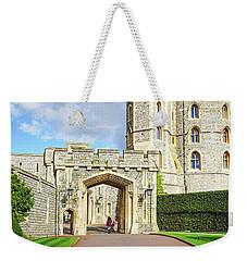 Weekender Tote Bag featuring the photograph Windsor Castle Walk by Joe Winkler