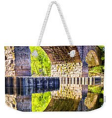 Windsor Rail Bridge Weekender Tote Bag