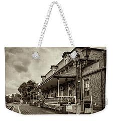 Windsor Railroad Station Weekender Tote Bag by Phil Cardamone