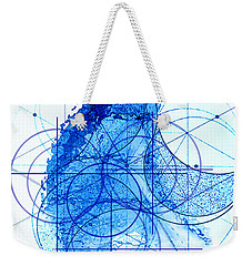Weekender Tote Bag featuring the painting Windstorm by James Christopher Hill