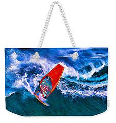 Windsurfer 1 Weekender Tote Bag