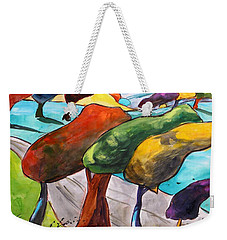 Windswept Morning Weekender Tote Bag