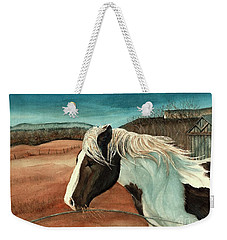 Windswept - Paint Horse - Shawangunk Weekender Tote Bag