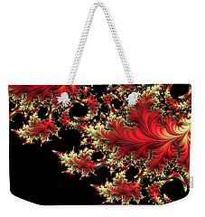 Weekender Tote Bag featuring the digital art Windswept by Susan Maxwell Schmidt