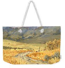 Windy Autumn Weekender Tote Bag