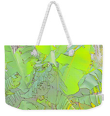 Windy Bananas Weekender Tote Bag