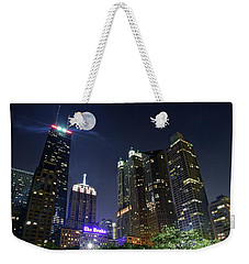 Windy City Weekender Tote Bag by Frozen in Time Fine Art Photography