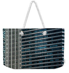 Windy City Perspective II Weekender Tote Bag by Michael Nowotny