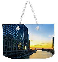 Windy City Sunrise Weekender Tote Bag