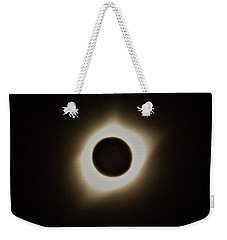 Windy Corona During Eclipse Weekender Tote Bag