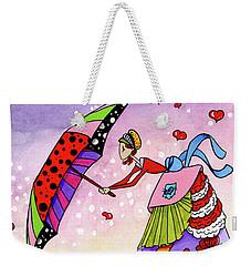 Windy Days Weekender Tote Bag