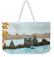 Windy Point Duck Blind Weekender Tote Bag