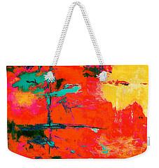 Windy Swirl Weekender Tote Bag by M Diane Bonaparte
