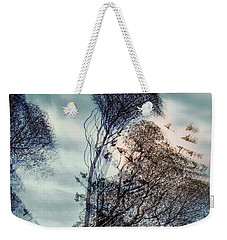 Weekender Tote Bag featuring the photograph Windy Weather by Vladimir Kholostykh