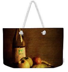 Wine And Fruit Weekender Tote Bag