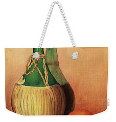 Wine And Oranges Weekender Tote Bag