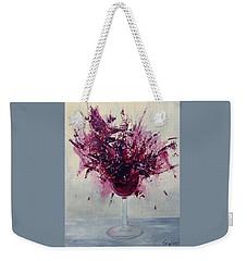 Wine Bouquet Weekender Tote Bag
