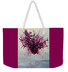 Wine Bouquet Weekender Tote Bag