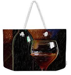 Wine Cellar 01 Weekender Tote Bag by Wally Hampton