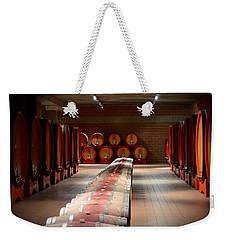 Wine Cellar In Montalcino Weekender Tote Bag