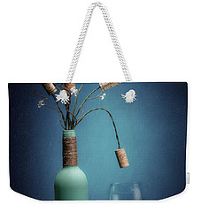 Weekender Tote Bag featuring the photograph Wine Cork Bouquet by Tom Mc Nemar