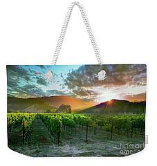 Wine Country Weekender Tote Bag by Jon Neidert