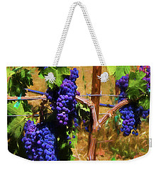 Wine Country  Weekender Tote Bag by Kandy Hurley
