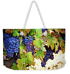 Weekender Tote Bag featuring the photograph Wine Country - Napa Valley California Photography by Melanie Alexandra Price
