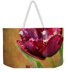 Wine Dark Tulips From My Garden Weekender Tote Bag