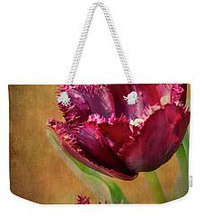 Wine Dark Tulips From My Garden Weekender Tote Bag