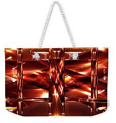 Wine Glass Maze Weekender Tote Bag by Gayle Price Thomas