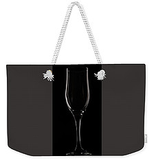 Wine Glass Weekender Tote Bag