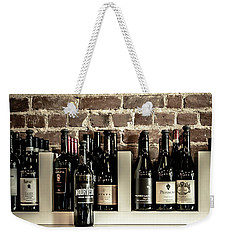 Wine II Weekender Tote Bag by Randy Bayne