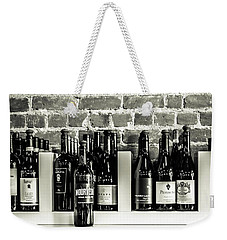 Wine Iv Weekender Tote Bag by Randy Bayne