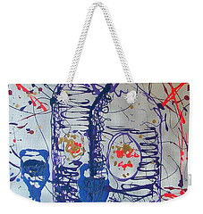 Wine Jugs Weekender Tote Bag by J R Seymour
