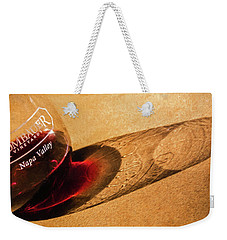 Wine Legs Of Napa Valley Weekender Tote Bag