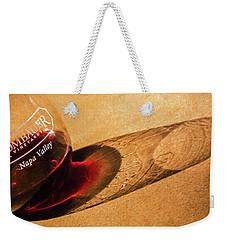 Wine Legs Of Napa Valley Weekender Tote Bag