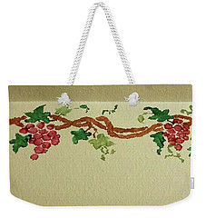 Wine On The Vine Weekender Tote Bag by Joseph Hendrix