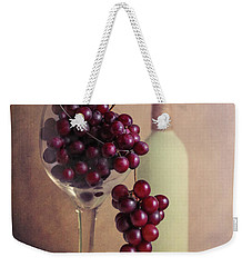 Wine On The Vine Weekender Tote Bag by Tom Mc Nemar