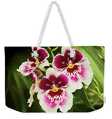 Wine Orchids- The Risen Lord Weekender Tote Bag